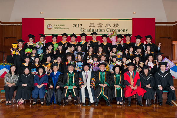Bachelor of Business Administration (Honours) in Accounting, Class of 2012.