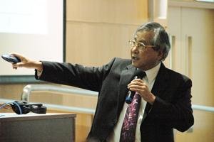 劉可復教授擔任主講嘉賓。