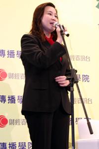 傳播學院院長曹虹教授致詞 1