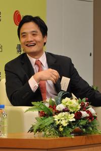 黃元山先生與同學分享年輕時找工作的經驗