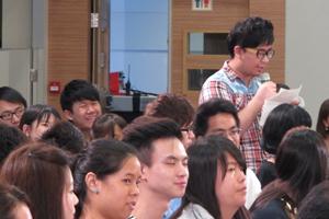 同學踴躍提問 3