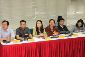 Members of delegation listened to the speech attentively