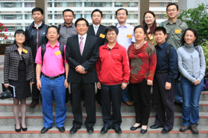 A group photo of HSMC management and Shenzhen delegation