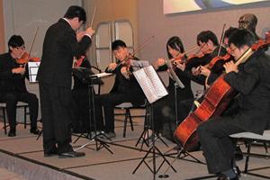 恒管交響樂團的精彩演出,獲得全場熱烈掌聲
