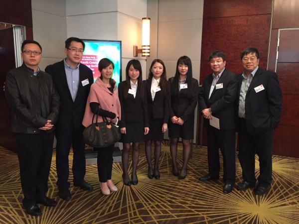 Group photo of HSMC team, their teachers and, Mr Fergus Wong, Chairman of ACCA Hong Kong 2014-2015
