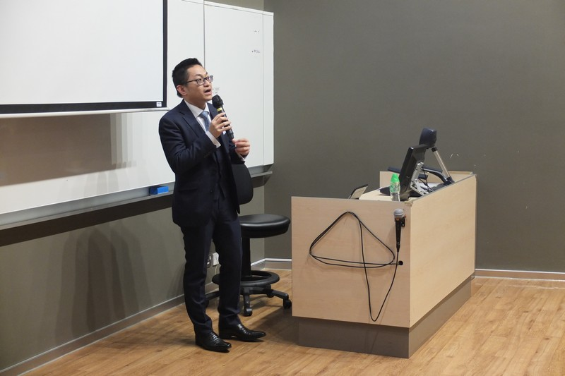 Mr Wilson Cheng, Partner of Tax & Business Advisory Services, Ernst & Young Hong Kong, delivered the talk on Hong Kong Stamp Duty
