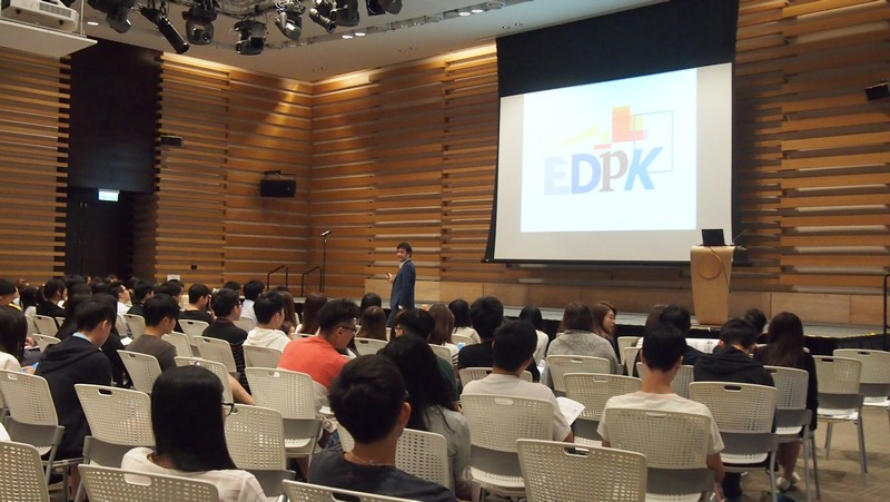 More than 170 students and staff attended the career seminar