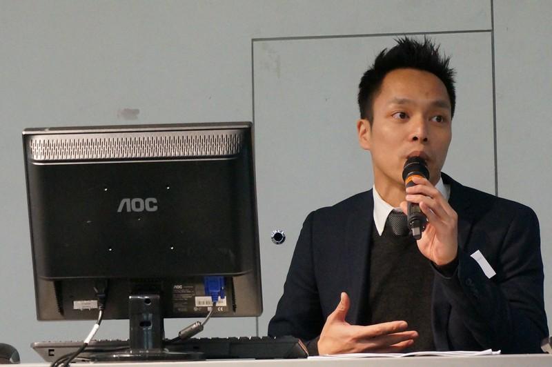香港警務處聯合財富情報組高級督察文連發先生