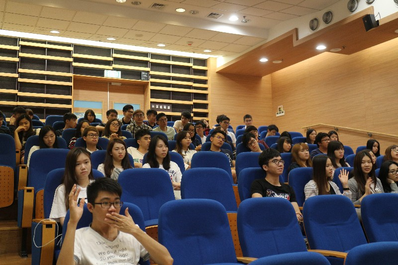 Over 50 students participated in the briefing session