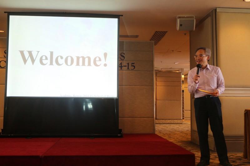 Welcoming Speech by Professor Raymond So, Dean of School of Business