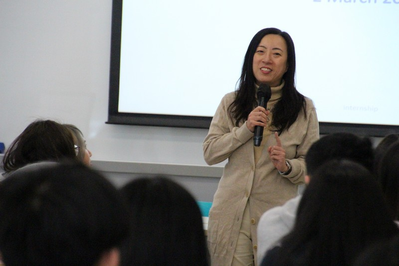 Dr Meily Cheung elaborated details of Summer Internship