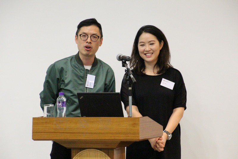 Dr Kaman Lee and Mr Earnest Li discussed media ethics with students