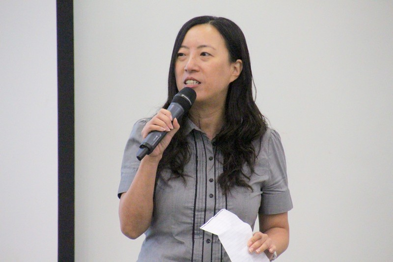 Dr Meily Cheung, Assistant Professor, encouraged students not to give up easily in the workplace