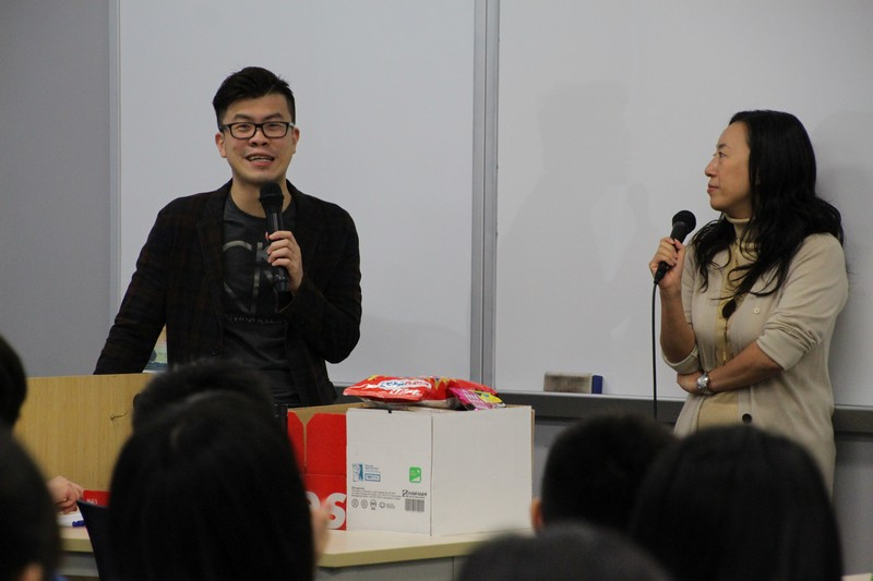 Dr Meily Cheung, Assistant Professor, and Mr Brian So, Senior Lecturer, were invited to be the speakers