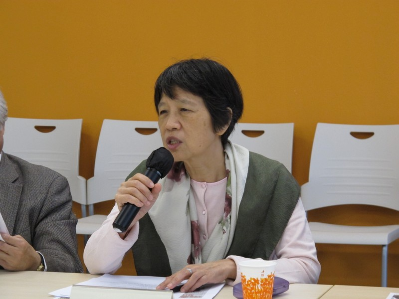 Professor Chen Ling provided valuable opinions on future development of the School of Communication
