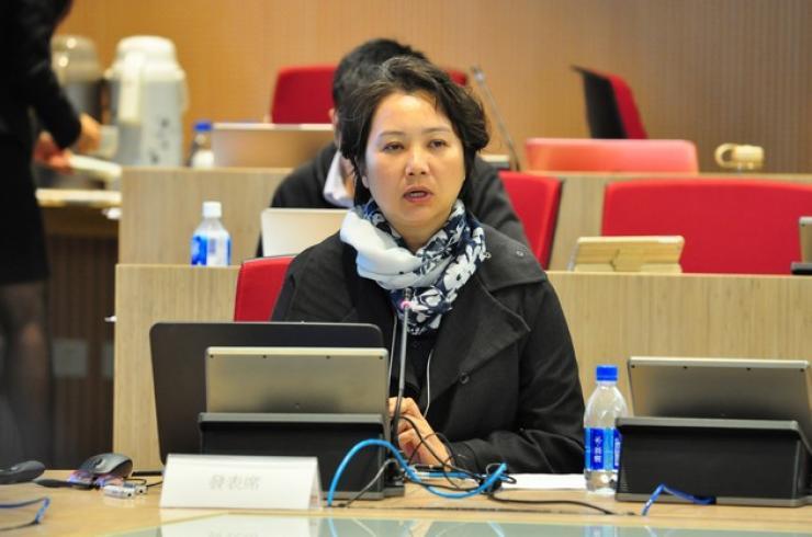 Dr Olivine Lo, Senior Lecturer of Department of Journalism and Communication, Hong Kong Shue Yan University, delivered a speech