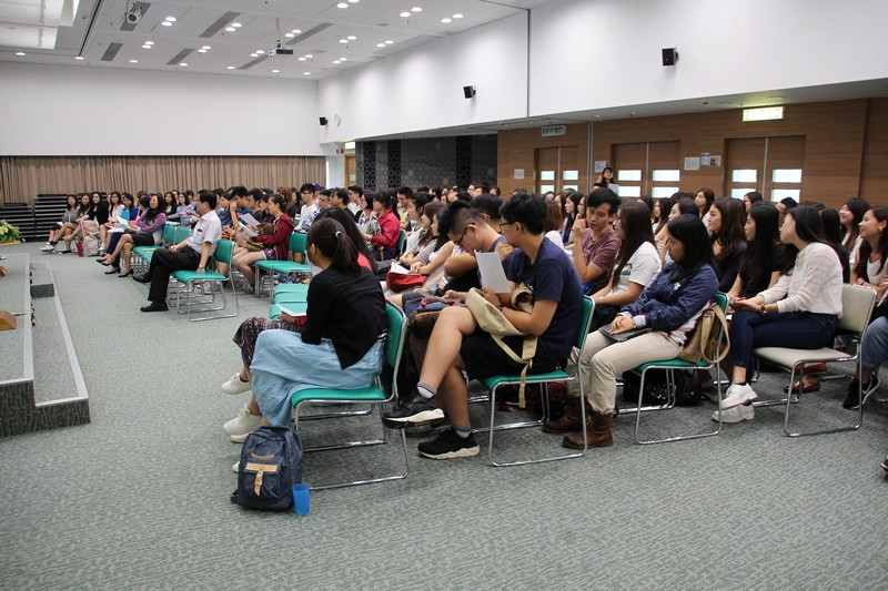 Over 170 students attended the Dean's Talk
