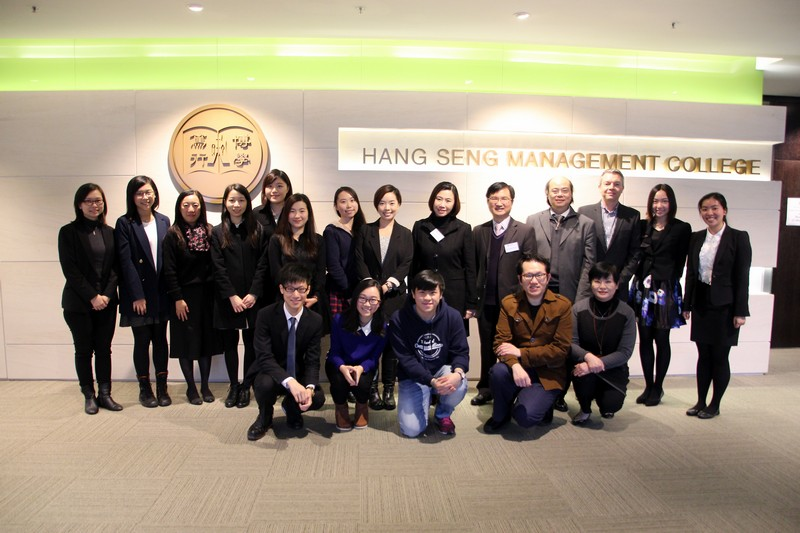 Group photo of BJC staff, students and alumni who participated in the re-accreditation exercise