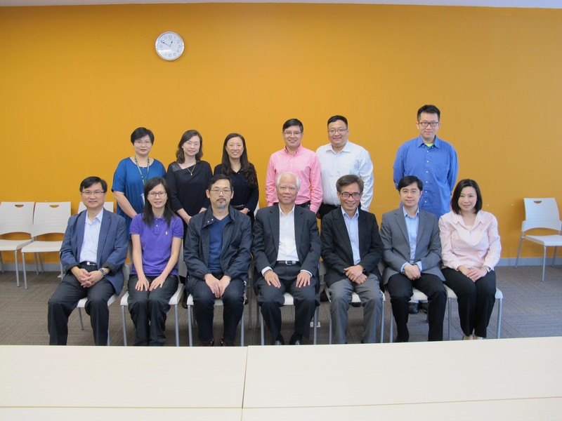 Group photo of Panel members and BJC Professors