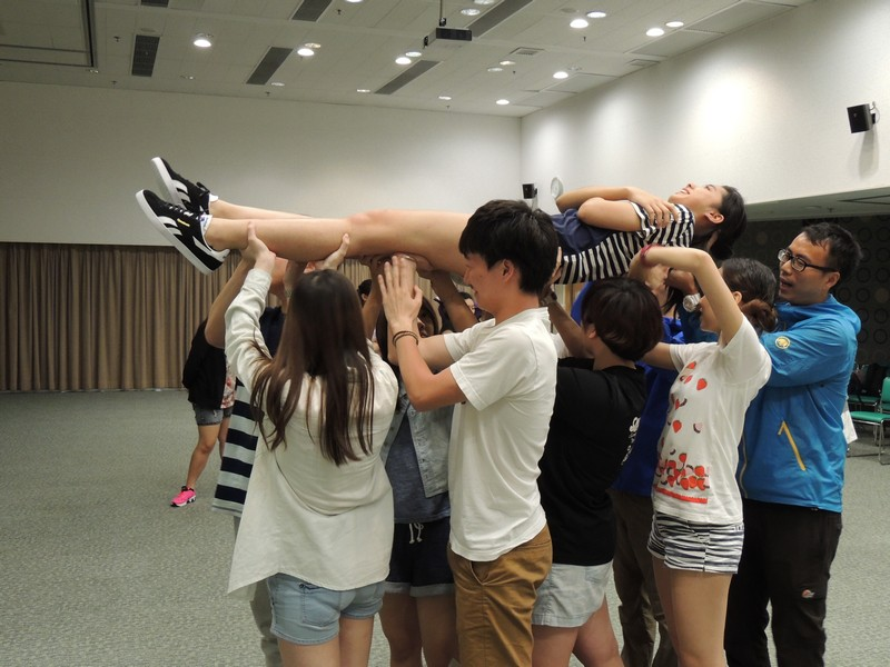 Students were devoted to the group games