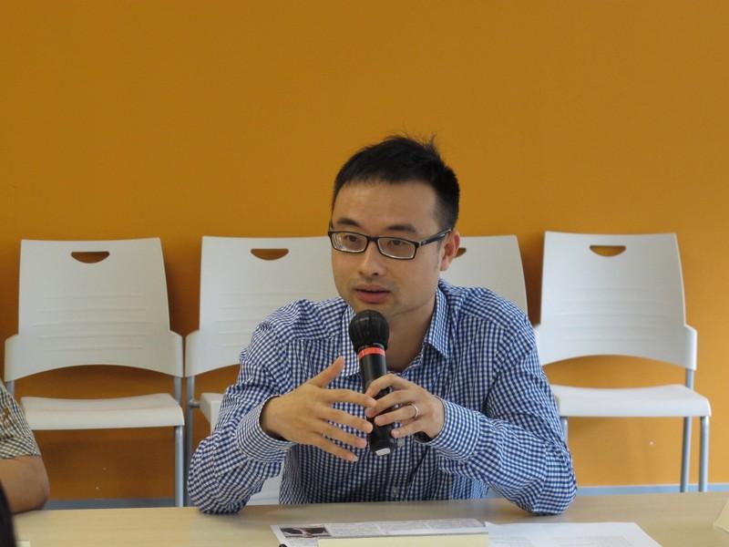 沈菲教授對本系課程提供寶貴意見