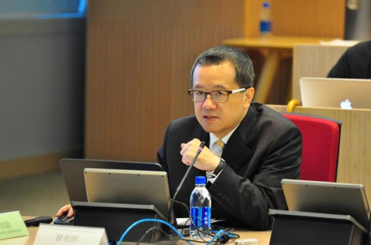 Mr Pan Tsu-yin, Vice President of News Department & VP of EBC Platform Integration, delivered a speech