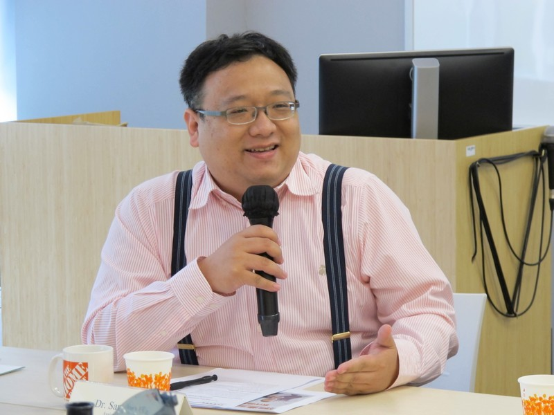 Dr Sammy Hu, Assistant Professor of BJC, discussed details of the programme re-validation in the coming year