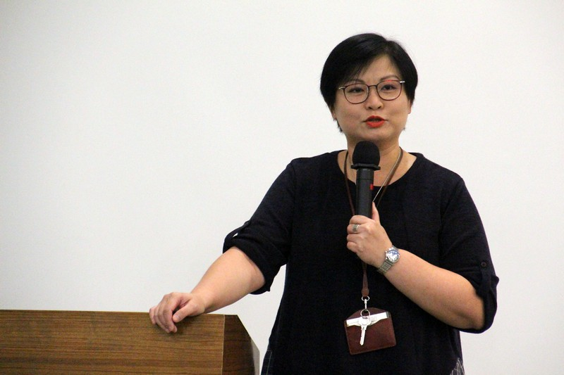 Ms Glacial Cheng, Senior Lecturer and BJC Programme Coordinator, hosted the gathering