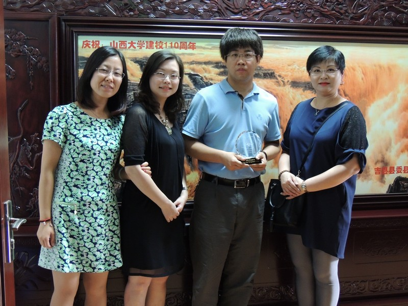 Two teachers with five students visited the Faculty of Arts of Shanxi University