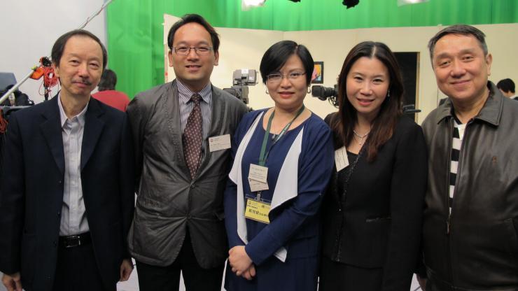 BJC professors visited HKBU