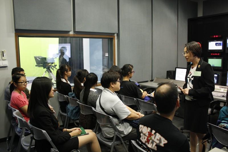 傳播學院蘇銘恒高級講師及陳雪慧高級講師分別主持教學示範