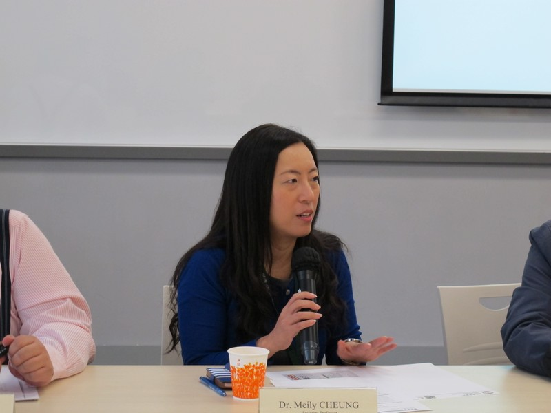 Dr Meily Cheung, Assistant Professor of BJC, reported student's internship programme
