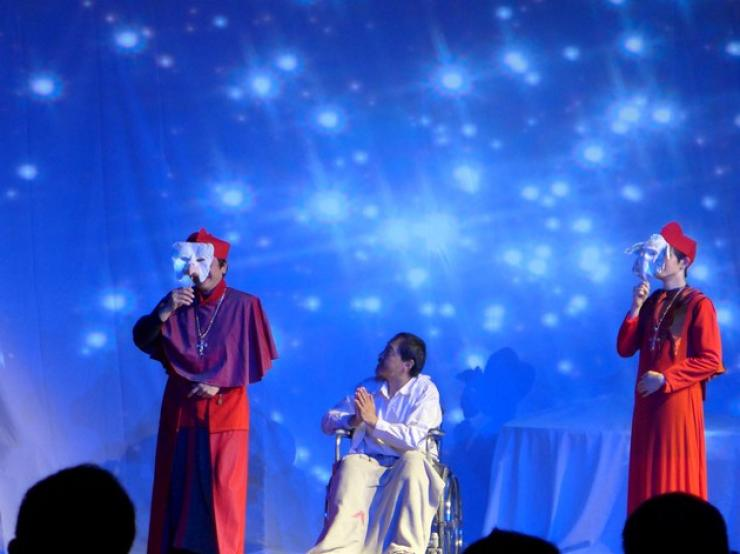 Outstanding performance of the actors and actresses from Hong Kong Theatre Works
