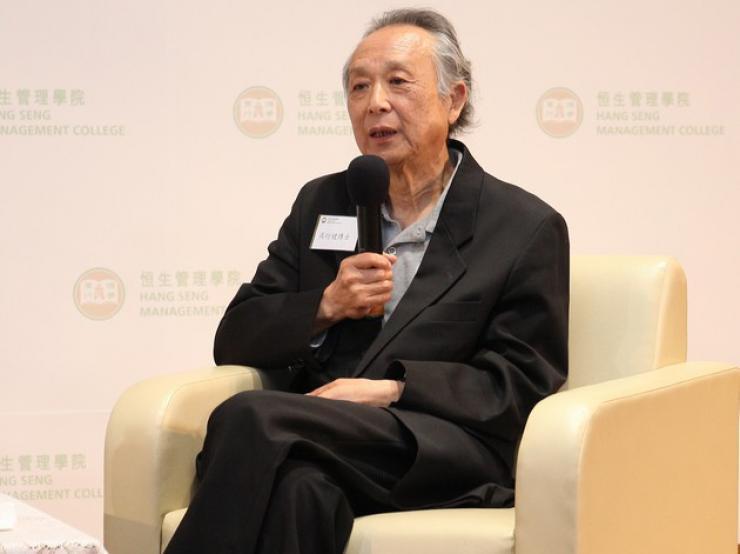 Discussion between Dr Gao Xingjian and Professor Fong