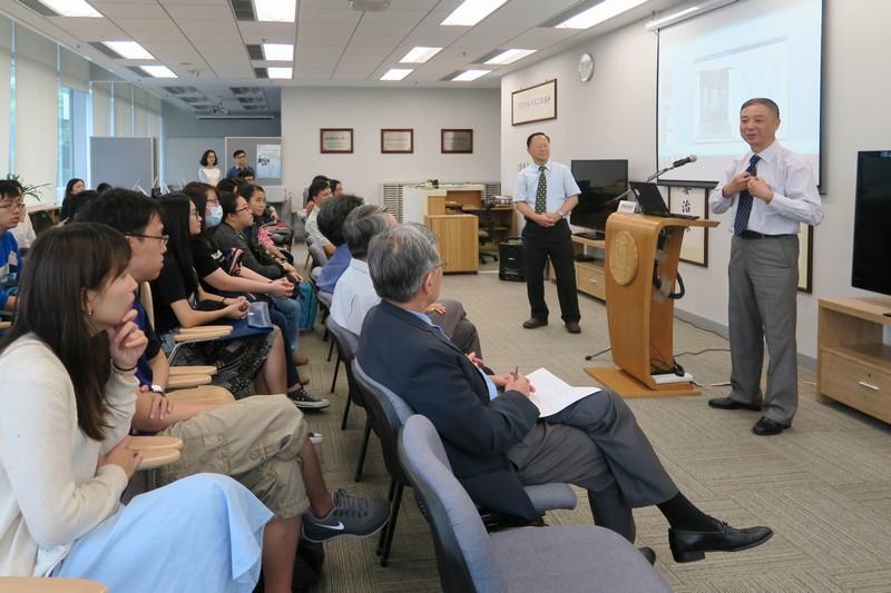曹錦炎教授分享以最新的數字技術保護文化遺產的經驗