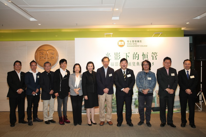 Group photo of the guest and HSMC management