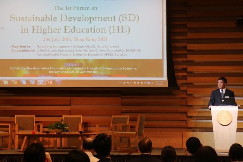 Dr Libing Wang, APEID Coordinator & Senior Programme Specialist in Higher Education, UNESCO Asia-Pacific Regional Bureau for Education Bangkok, Thailand