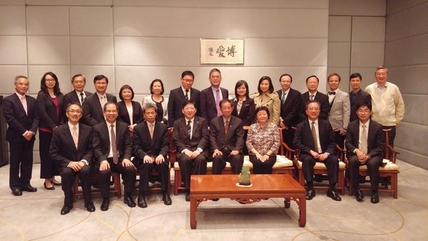 Ms Rose Lee, Chairman of Board of Governors, hosted a dinner for Professor Lee
