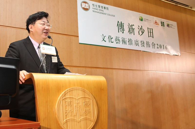 President Simon Ho addressed that the Project played a significant role in cultural inheritance