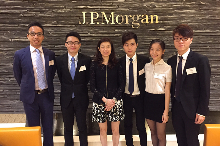 Meeting with Skyworth's Investor Relation in JP Morgan Office
