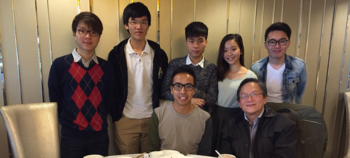 Lunch Meeting with Mr Samuel Lee and Dr David Chui