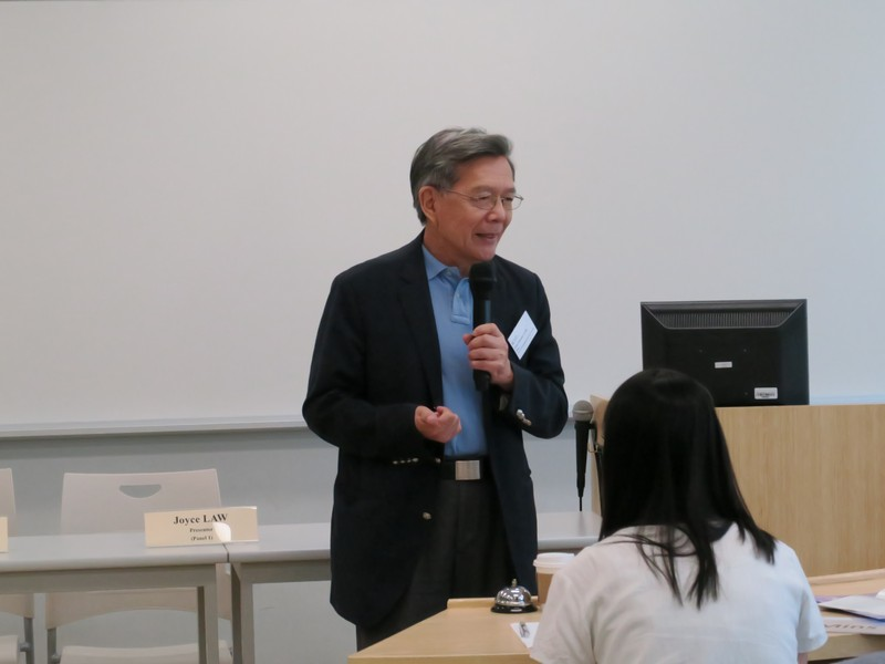 Dean Thomas Luk, School of Humanities, gave an opening remark