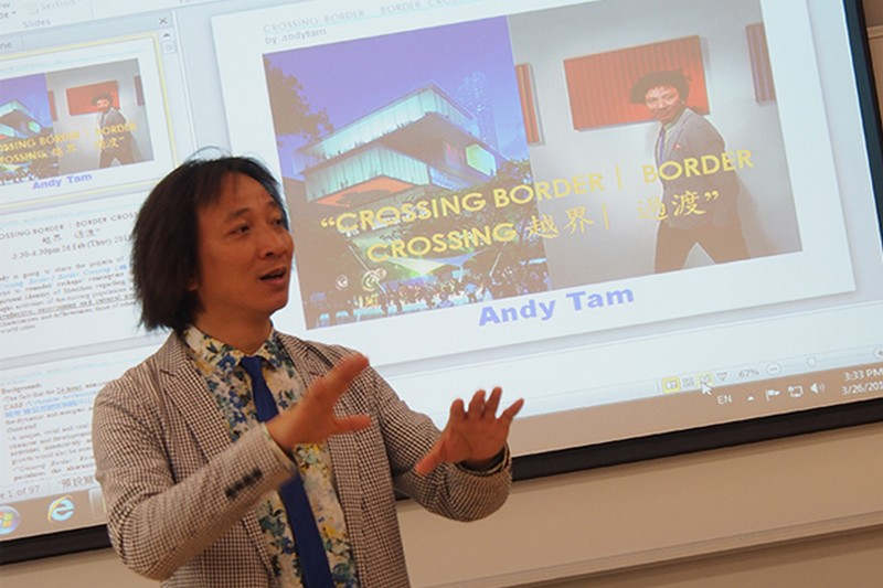 Mr Tam shared the ideas and concepts of remodeling the existing identity of Shenzhen to a vibrant city in the world