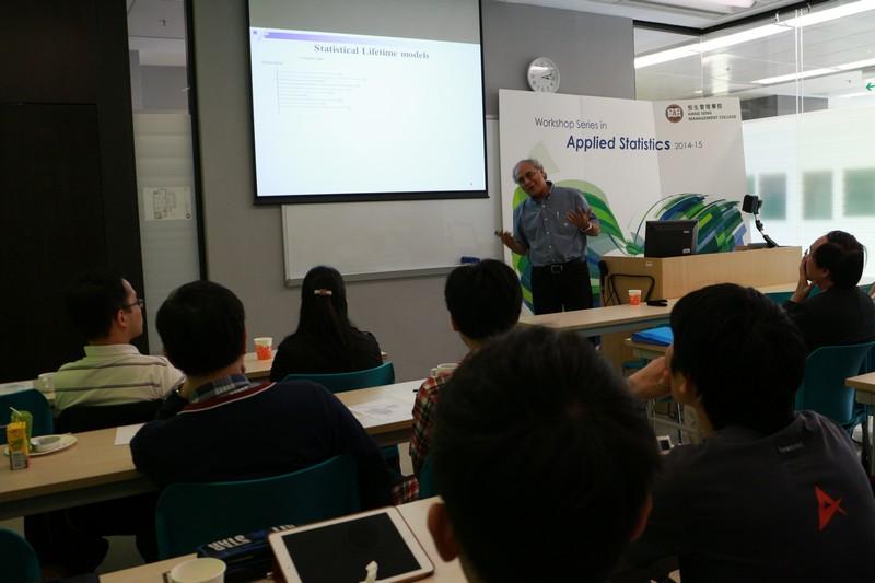Professor Balakrishnan's presentation