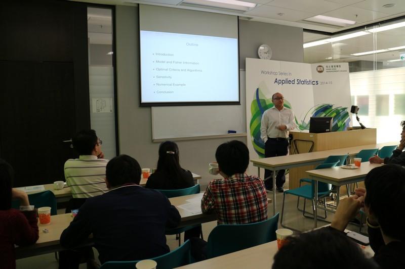 Dr Chan's presentation