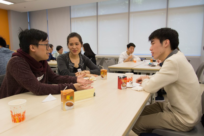 Students sought career planning advice from mentors