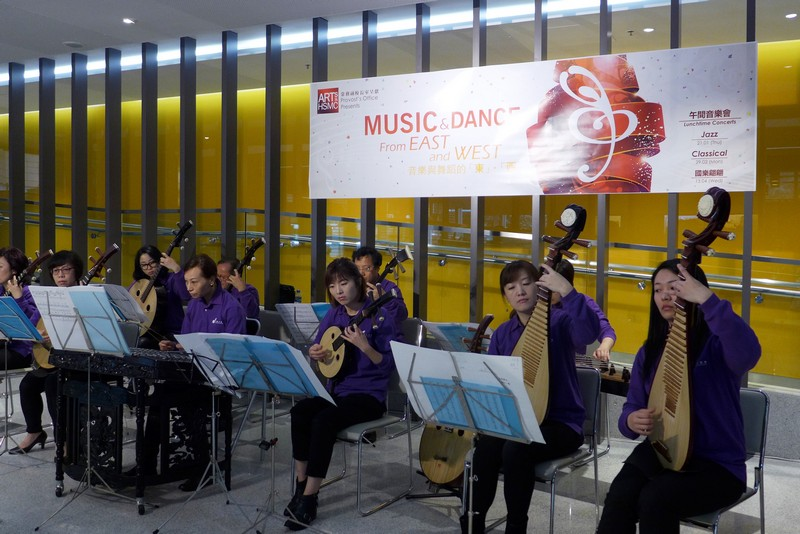 HKPO musicians playing classical and contemporary Chinese masterpieces at HSMC