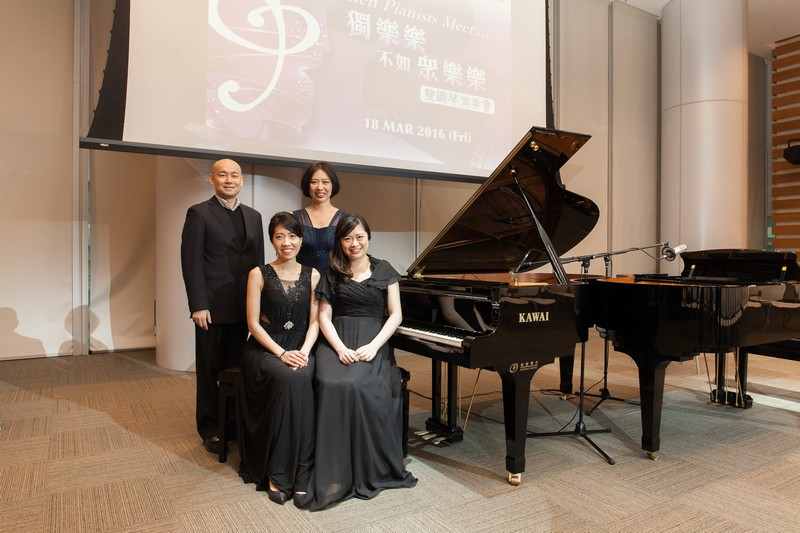 (From left) Dr Karl Lo, Ms Alice Tang, Ms Joycelyn Cheung and Ms Henrika Wong