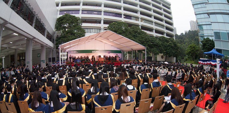 Over 1,700 guests participated in the Graduation Ceremony