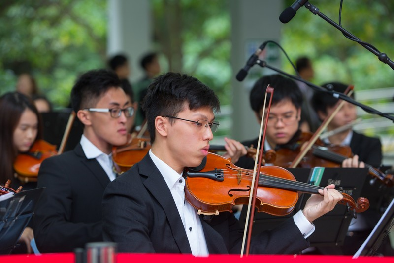 Music performance by the Sinfonietta for the Ceremony